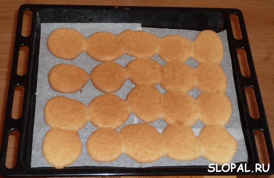 Приготовление лепешек для торта Черепаха