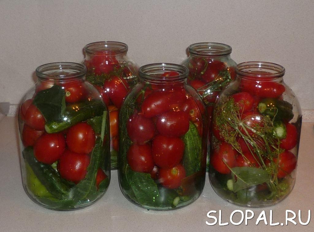 Закрутки на зиму рецепты с фото помидоры