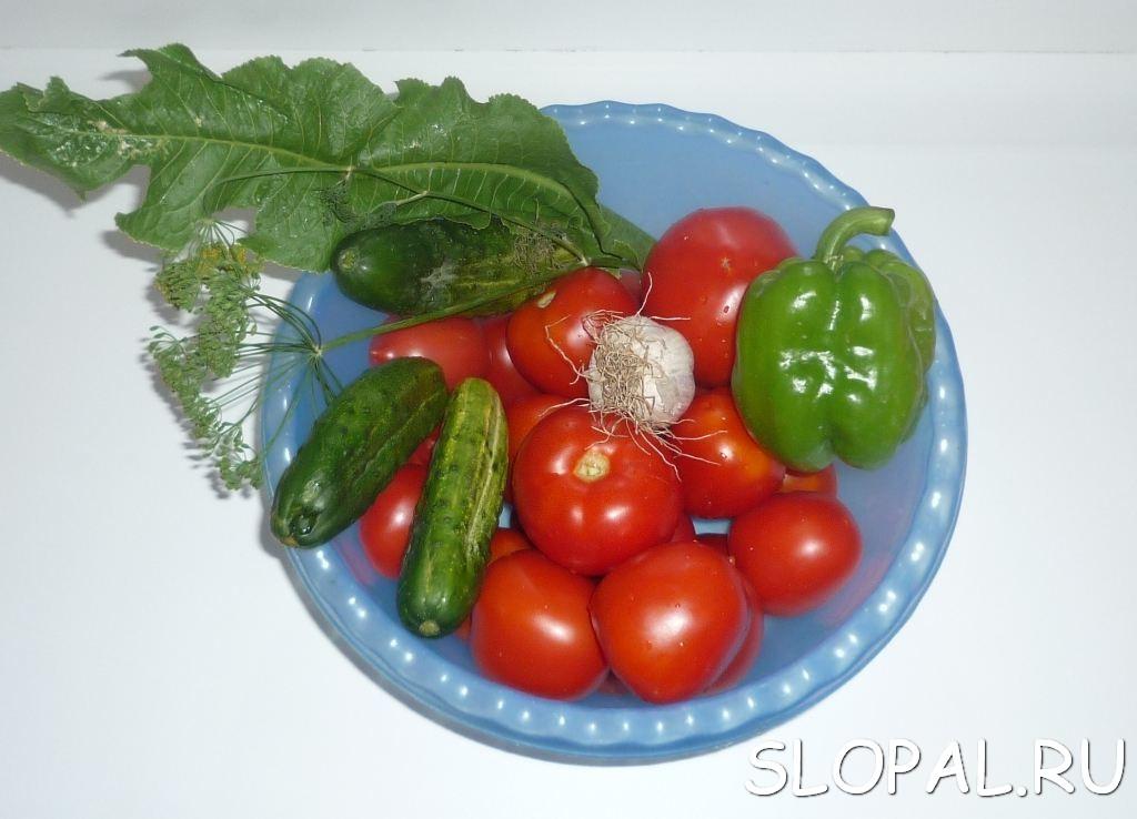 Готовим овощи для купорки