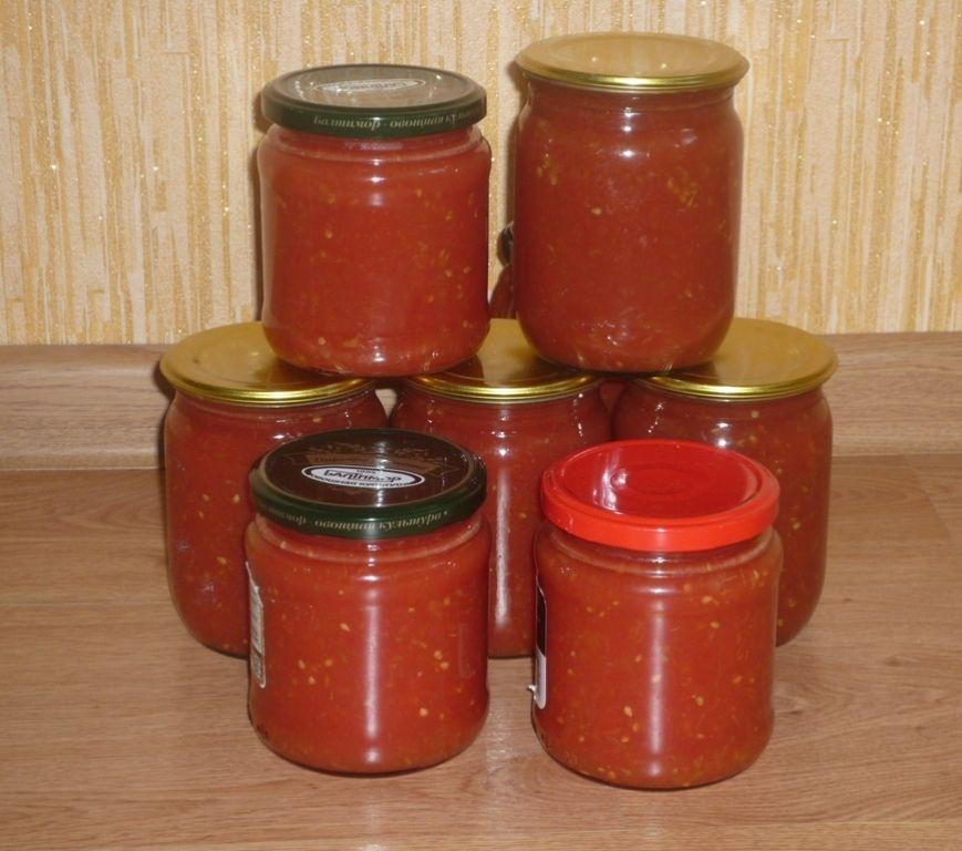 Томат, томатный сок на зиму