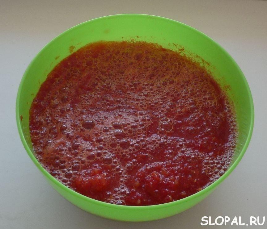Томат из помидор